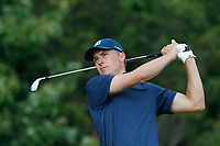 Jordan Spieth (USA) tees off on the 15th hole during the second round of the 118th U.S. Open Championship at Shinnecock Hills Golf Club in Southampton, NY, USA. 15th June 2018.<br /> Picture: Golffile | Brian Spurlock<br /> <br /> <br /> All photo usage must carry mandatory copyright credit (&copy; Golffile | Brian Spurlock)
