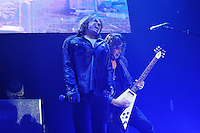 LONDON, ENGLAND - NOVEMBER 12: Joey Tempest and John Norum of 'Europe' performing at Camden Roundhouse on November 12, 2016 in London, England.<br /> CAP/MAR<br /> &copy;MAR/Capital Pictures /MediaPunch ***NORTH AND SOUTH AMERICAS ONLY***