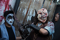 CIUDAD DE MEXICO, D.F. 25 de octubre.- Hoy se llevo acababo elfestival de música Hell and Heaven en el Autódromo Hermanos Rodríguez de la Ciudad de México, el 25 de octubre de 2014.  FOTO: ALEJANDRO MELÉNDEZ