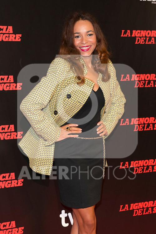 """Montse Pla attends """"La Ignorancia de la Sangre"""" Premiere at Capitol Cinema in Madrid, Spain. November 13, 2014. (ALTERPHOTOS/Carlos Dafonte)"""