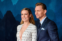 www.acepixs.com<br /> <br /> February 28 2017, London<br /> <br /> Tom Hiddleston and Brie Larson arriving at the European premiere Of 'Kong: Skull Island' on February 28, 2017 in London<br /> <br /> By Line: Famous/ACE Pictures<br /> <br /> <br /> ACE Pictures Inc<br /> Tel: 6467670430<br /> Email: info@acepixs.com<br /> www.acepixs.com