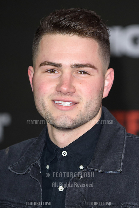 Jake Boys at the European premiere for &quot;Bright&quot; European premiere at the BFI South Bank, London, UK. <br /> 15 December  2017<br /> Picture: Steve Vas/Featureflash/SilverHub 0208 004 5359 sales@silverhubmedia.com