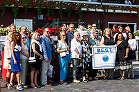 Scenes from around Saratoga Race Course, Sept 4.  Backstretch Employee Service Team  (Bruce Dudek/Eclipse Sportswire)