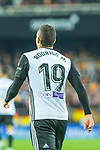 Rodrigo Moreno of Valencia CF is seen during the La Liga 2017-18 match between Valencia CF and FC Barcelona at Estadio de Mestalla on November 26 2017 in Valencia, Spain. Photo by Maria Jose Segovia Carmona / Power Sport Images