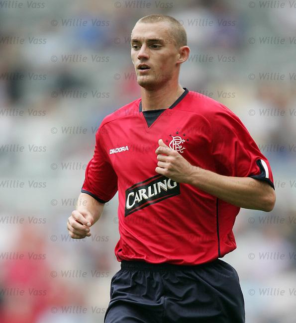 Tom Brighton, Rangers.stock season 2004-2005.pic willie vass