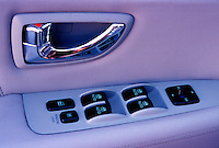 Car, Automobile, Door, Control Button, Switches, Close Up,