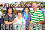 Enjoying Dingle Races on Friday were from left: Marian, Tara, Garry and Michael Clifford, Tralee.