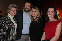 NWA Democrat-Gazette/CARIN SCHOPPMEYER Marvelyn Stout (from left), Jacob Roberts, Brenda Maxwell and Kim Ratcliff attend the exhibition preview at Crystal Bridges.