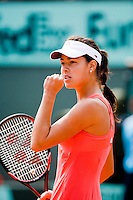 1-6-08, France,Paris, Tennis, Roland Garros, Ana Ivanovic