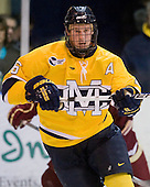 Adam Ross (Merrimack - 26) - The Merrimack College Warriors defeated the Boston College Eagles 5-3 on Sunday, November 1, 2009, at Lawler Arena in North Andover, Massachusetts splitting the weekend series.