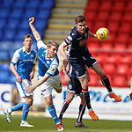 12.05.2018 St Johnstone v Ross County: David Wotherspoon and Mattias Kait