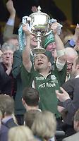 10/04/2002 - Powergen National Cup Final - Twickenham.London Irish vs Northampton..Darren Edwards.