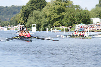 Race: 14 - Event: REMENHAM - Berks: 14 LEANDER CLUB & UNIVERSITY OF LONDON - Bucks: 24 WAIARIKI R.C., NZL<br /> <br /> Henley Royal Regatta 2017<br /> <br /> To purchase this photo, or to see pricing information for Prints and Downloads, click the blue 'Add to Cart' button at the top-right of the page.