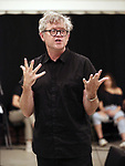"""Director Jay Scheib during Jim Steinman's """"Bat Out of Hell - The Musical"""" - Open Rehearsal at New York City Center on July 30, 2019 in New York City."""