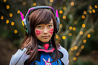 D.Va from Overwatch Cosplay, Emerald City Comicon, Seattle, WA, USA.