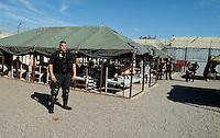 AJ ALEXANDER/AAP - Tent City AT ESTRELLA JAIL PHOENIX, AZ Maricopa County. Sheriff Joe Arpaio..<br /> Photo by AJ Alexander(c)