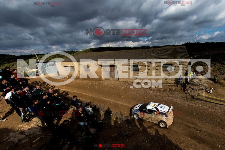 LOUBET Pierre-Louis / LANDAIS Vincent during the World Rally Car RACC Catalunya Costa Dourada 2016 / Rally Spain, in Catalunya, Spain. October 15, 2016. (ALTERPHOTOS/Rodrigo Jimenez) NORTEPHOTO.COM