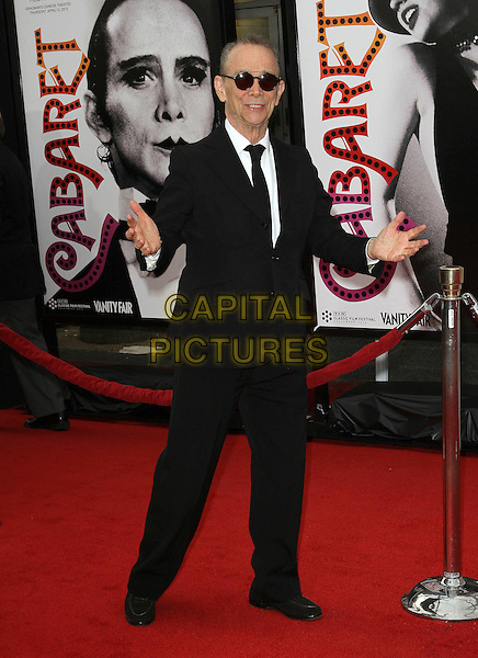 Joel Grey.2012 TCM Classic Film Festival Opening Night Gala Held at Grauman's Chinese Theatre, Hollywood, California, USA..April 12th, 2012.full length white shirt black suit sunglasses shades hands arms.CAP/ADM/KB.©Kevan Brooks/AdMedia/Capital Pictures.