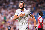 Real Madrid's player Nacho during the XXXVII Santiago Bernabeu Trophy in Madrid. August 16, Spain. 2016. (ALTERPHOTOS/BorjaB.Hojas)
