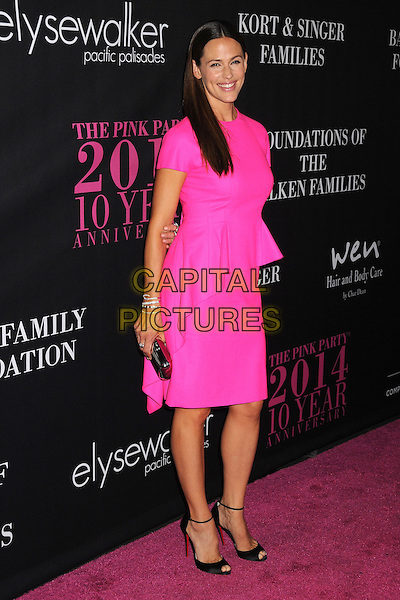 18 October 2014 - Santa Monica, California - Jennifer Garner. Elyse Walker's 10 Year Anniversary Pink Party held at Santa Monica Airport Hangar 8.  <br /> CAP/ADM/BP<br /> &copy;Byron Purvis/AdMedia/Capital Pictures