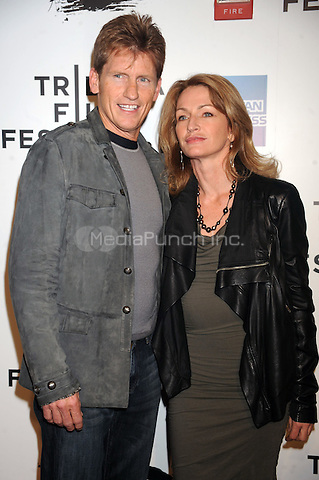 Denis Leary and Anne Leary at the opening night premiere of 'The Union' during the 2011 Tribeca Film Festival at North Cove at World Financial Center Plaza on April 20, 2011 in New York City. © mpi01/MediaPunch Inc.