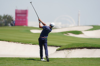 Joakim Lagergren (SWE) on the 2nd during Round 2 of the Commercial Bank Qatar Masters 2020 at the Education City Golf Club, Doha, Qatar . 06/03/2020<br /> Picture: Golffile | Thos Caffrey<br /> <br /> <br /> All photo usage must carry mandatory copyright credit (© Golffile | Thos Caffrey)
