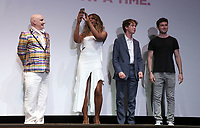 "LOS ANGELES, CA- James St. James, Lavern Cox, Alex Lawther, Ian Nelson, At 2017 Outfest Los Angeles LGBT Film Festival - Closing Night Gala Screening Of ""Freak Show"" at The Theatre at Ace Hotel, California on July 16, 2017. Credit: Faye Sadou/MediaPunch"