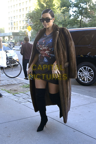 NEW YORK, NY - SEPTEMBER 15:  Kim Kardashian seen in New York City on September 15, 2015. <br /> CAP/MPI67<br /> &copy;MPI67/Capital Pictures