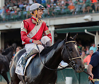LOUISVILLE, KY - JUNE 17: McCraken (#2, Brian J. Hernandez Jr.) wins the 20th running of the G3 Matt Winn at Churchill Downs, Louisville KY. Owner Whitham Thoroughbreds LLC (Janis R. Whitham), trainer Ian R. Wilkes. By Ghostzapper x Ivory Empress (Seeking the Gold.) (Photo by Mary M. Meek/Eclipse Sportswire/Getty Images)