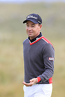 Brett Rumford (AUS) on the 13th green during Thursday's Round 1 of the 2018 Dubai Duty Free Irish Open, held at Ballyliffin Golf Club, Ireland. 5th July 2018.<br /> Picture: Eoin Clarke | Golffile<br /> <br /> <br /> All photos usage must carry mandatory copyright credit (&copy; Golffile | Eoin Clarke)