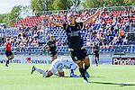 Tyres&ouml; 2014-05-25 Fotboll Damallsvenskan Tyres&ouml; FF - FC Roseng&aring;rd :  <br /> Roseng&aring;rds Elin Rubensson jublar efter att ha gjort 1-0<br /> (Foto: Kenta J&ouml;nsson) Nyckelord:  Damallsvenskan Tyres&ouml;vallen Tyres&ouml; TFF FC Roseng&aring;rd FCR Malm&ouml; jubel gl&auml;dje lycka glad happy