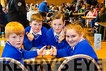 Scoil Sliabh a Mhadra, Ballyduff, Oisin O'Callaghan, T. J. O'sullivan, Conor Donegan, Hannah Ludgate at the Chapter 23 Credit Union Table Quiz at Ballyroe Heights Hotel on Sunday