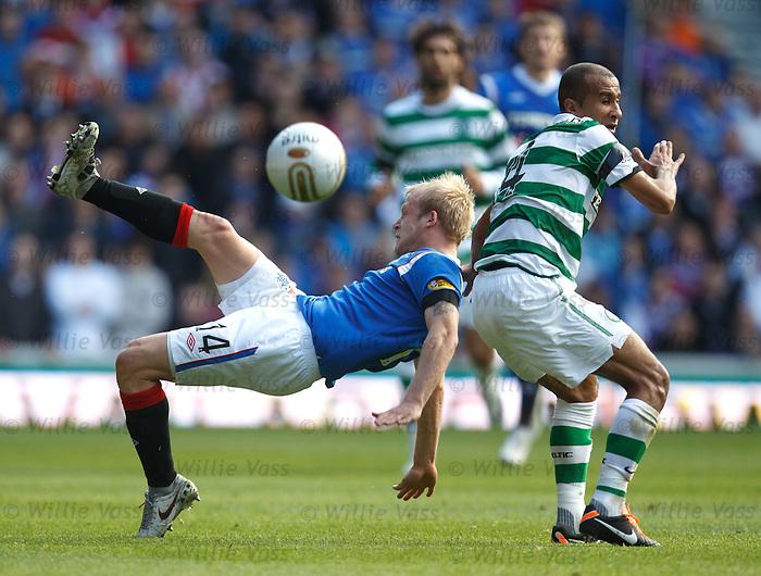 Steven Naismith fouled by Baddur El Kaddouri