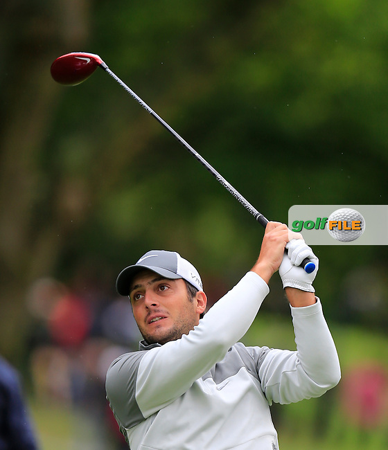 Francesco MOLINARI (ITA) during round 3 of the BMW PGA championship, Wentworth Golf Club, Virginia Waters, London.<br /> Picture: Fran Caffrey www.golffile.ie