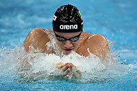 Martinenghi Nicolo ITA <br /> Men's 50m Breaststroke <br /> Hangh Zhou 15/12/2018 <br /> Hang Zhou Olympic & International Expo Center <br /> 14th Fina World Swimming Championships 25m <br /> Photo Andrea Staccioli/ Deepbluemedia /Insidefoto