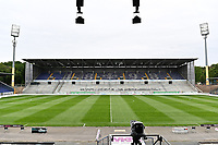 Innenraum des Merck Stadion am Böllenfalltor - 23.05.2020: Fussball 2. Bundesliga, Saison 19/20, Spieltag 27, SV Darmstadt 98 - FC St. Pauli, emonline, emspor, v.l. Stadionansicht Innenraum, Rasen Uebersicht vor dem Spiel<br /> <br /> <br /> Foto: Florian Ulrich/Jan Huebner/Pool VIA Marc Schüler/Sportpics.de<br /> Nur für journalistische Zwecke. Only for editorial use. (DFL/DFB REGULATIONS PROHIBIT ANY USE OF PHOTOGRAPHS as IMAGE SEQUENCES and/or QUASI-VIDEO)