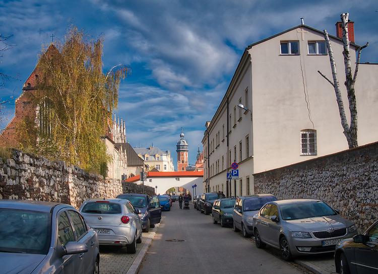 Ulica Skałeczna na krakowskim Kazimierzu.