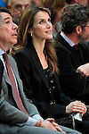 Princess Letizia of Spain attends the 'El Barco de Vapor' literature awards in presence of the President of the Madrid Region Jose Ignacio Gonzalez.April 9, 2013.(ALTERPHOTOS/Acero)