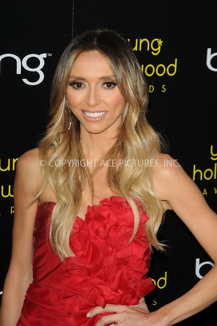 WWW.ACEPIXS.COM . . . . .  ....May 20 2011, LA....Giuliana Rancic arriving at the 2011 Young Hollywood Awards at Club Nokia on May 20, 2011 in Los Angeles, California. ....Please byline: PETER WEST - ACE PICTURES.... *** ***..Ace Pictures, Inc:  ..Philip Vaughan (212) 243-8787 or (646) 679 0430..e-mail: info@acepixs.com..web: http://www.acepixs.com
