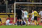 05.02.2019, Signal Iduna Park, Dortmund, GER, DFB-Pokal, Achtelfinale, Borussia Dortmund vs Werder Bremen<br /> <br /> DFB REGULATIONS PROHIBIT ANY USE OF PHOTOGRAPHS AS IMAGE SEQUENCES AND/OR QUASI-VIDEO.<br /> <br /> im Bild / picture shows<br /> Tor 3:3, Martin Harnik (Werder Bremen #09) k&ouml;pft ein zum 3:3 Ausgleich in der zweiten H&auml;lfte der Verl&auml;ngerung, <br /> <br /> Foto &copy; nordphoto / Ewert