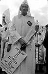 Old man at rally that followed Ku Kluz Klan parade along Dexter Ave. in Montgomery, Ala in December, 1967 to protest Dr. Martin Luther King Jr speaking at Dexter Ave. Baptist Church on Anniversary of Montgomery Bus Boycott. (Photo by Jim Peppler published in The Southern Courier Dec. 16, 1967). Copyright Jim Peppler/1967. This and over 10,000 other images are part of the Jim Peppler Collection at The Alabama Department of Archives and History:  http://digital.archives.alabama.gov/cdm4/peppler.php