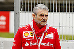 Maurizio Arrivabene (ITA) Ferrari team cheaf at Formula One Testing, Day 2, Circuit Barcelona Catalunya