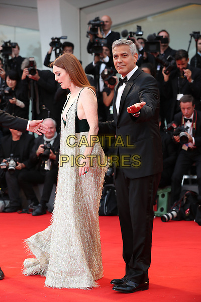 VENICE, ITALY - SEPTEMBER 02: Julianne Moore George Clooney - arrivals at the 'Suburbicon' screening during the 74th Venice Film Festival at Sala Grande on September 2, 2017 in Venice, Italy.<br /> CAP/GOL<br /> &copy;GOL/Capital Pictures