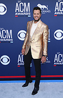 07 April 2019 - Las Vegas, NV - Luke Bryan. 2019 ACM Awards at MGM Grand Garden Arena, Arrivals.<br /> CAP/ADM/MJT<br /> &copy; MJT/ADM/Capital Pictures
