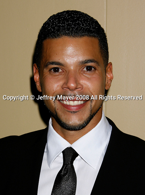 "HOLLYWOOD, CA. - October 07: Actor Wilson Cruz arrives at the Padres Contra El Cancer's 8th Annual ""El Sueno De Esperanza"" Benefit Gala at the Hollywood & Highland Center on October 7, 2008 in Hollywood, California."