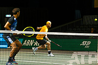 Rotterdam, The Netherlands, 9 Februari 2020, ABNAMRO World Tennis Tournament, Ahoy, Doubles: Raven Klaasen (RSA) and Oliver Marach (AUT).<br /> Photo: www.tennisimages.com