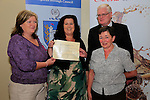 Margaret Finnegan, Eileen Grey and Frank Maher, Meadow View<br /> Beauth on the Boyne Awards<br /> Picture Fran Caffrey www.newsfile.ie