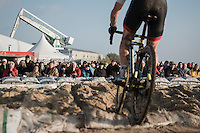 fans enjoying the spetacle<br /> <br /> Elite Men's Race<br /> Soudal Jaarmarktcross Niel 2016