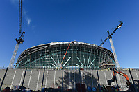 Building work at Tottenham Hotspur Stadium at High Road (White Hart Lane), London, England on 2 November 2018. Photo by Vince  Mignott.