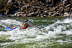 Kayaking the Lower Salmon River, central Idaho